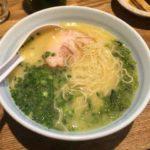 濃厚鶏白湯で有名 らーめん まる玉 大島店